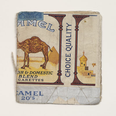 James Castle, 'Untitled (Camel Book)', n.d.
