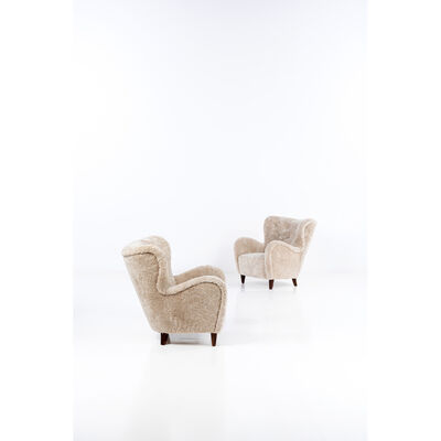 Otto Schulz, 'Pair of armchairs', vers 1946