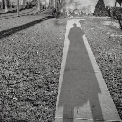 Vivian Maier, 'Self-portrait, Chicago area', 1956