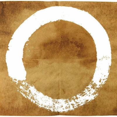Takashi Murakami, 'Coffee Zen, Enso: White', 2020