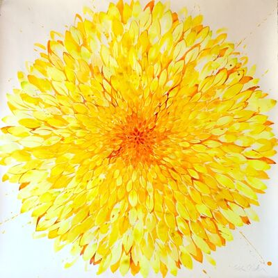Idoline Duke, 'Big Yellow Flower ', 2019