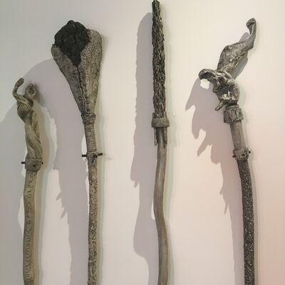 Charles Ramsburg, 'Pathing Sticks'