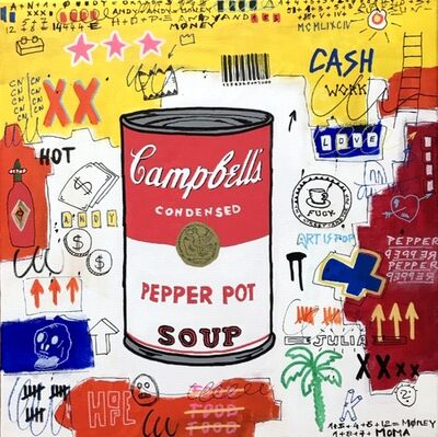 Sainte Fauste, 'CAMPBELL'S PEPPER SOUP', 2019