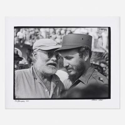Osvaldo Salas, 'Con Hemingway', 1960