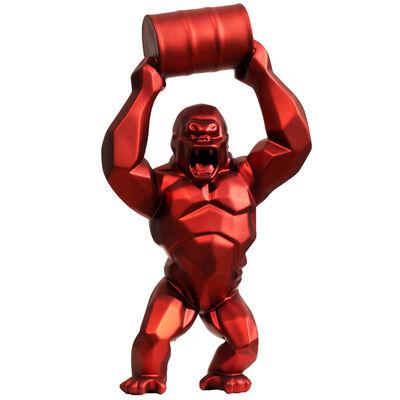 Richard Orlinski, 'Wild Kong red metallic', 2020