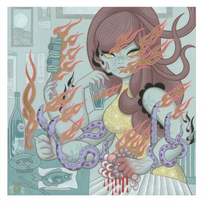 "Junko Mizuno, '""Silent Rage""', 2019"