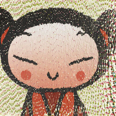 David Mach, 'Pucca Cartoon', 2009