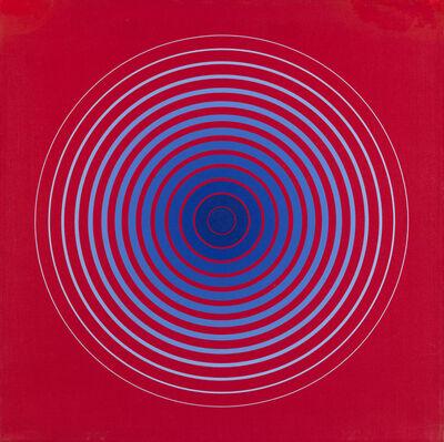 Marina Apollonio, 'N° 28 Gradazione 14 P Forma colore', 1972