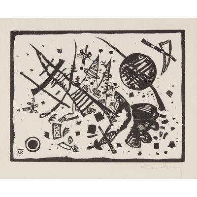 Wassily Kandinsky, 'Holzschnitt für die Ganymed-Mappe', 1924