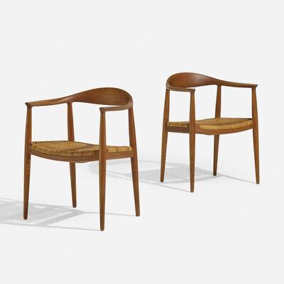 Hans Jørgensen Wegner, 'The Chairs, pair', 1949