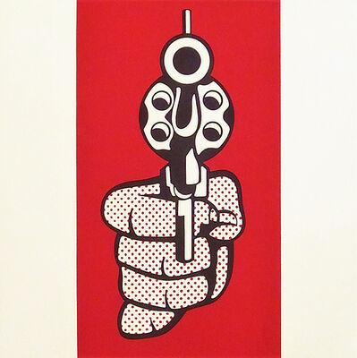 Roy Lichtenstein, 'Pistol', 1968