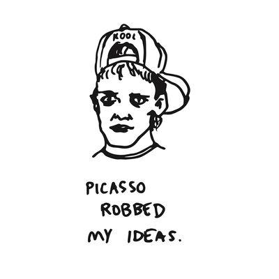Alvaro Seixas, 'Picasso Robbed My Ideas', 2018