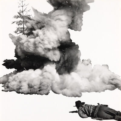 John Baldessari, 'Smoke, Tree, Shadow and Person', 2011