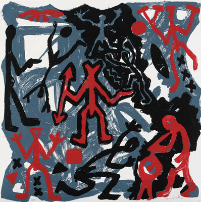 A.R. Penck, 'Untitled (K. 108)', 1984
