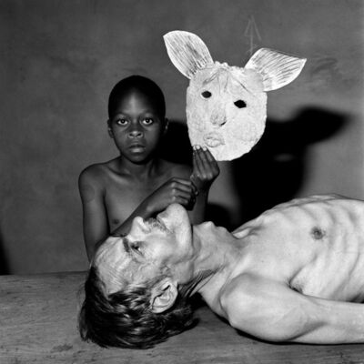 Roger Ballen, 'Tommy, Samson and a Mask', 2000