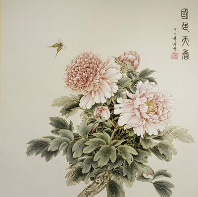 ZHENG XiLin, 'Peony – Elegant 國色天香 ', 2014