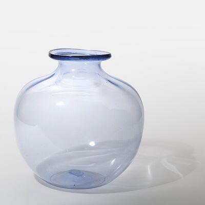 Vittorio Zecchin, 'A bluish transparent glass vase', circa 1925
