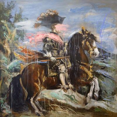 Mandy Racine, 'Philip IV on Horseback', 2020