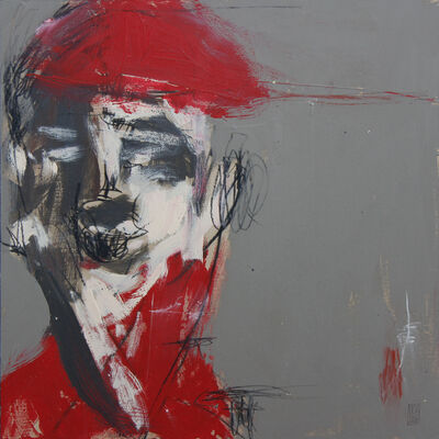 Michael Gadlin, 'Red Hat #3', 2016