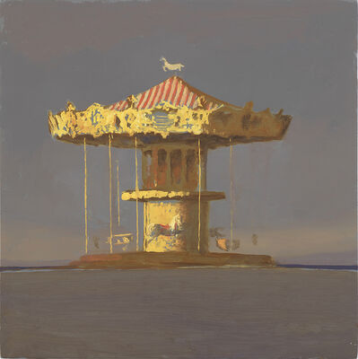 Bo Bartlett, 'Archachon Carousel (Study)', 2017