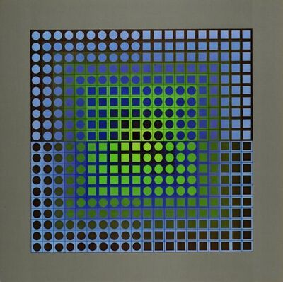 Victor Vasarely, 'Planetary Folklore / Planetarische Folklore / Folklore planetaire. ', 1971