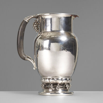 Georg Jensen, 'Pitcher, no. 407C', 1925