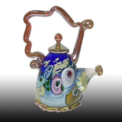 Paul Counts, 'Cobalt Jewel Tone Teapot ', 2018