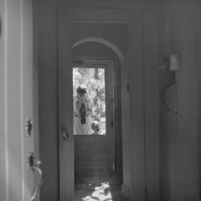 Vivian Maier, 'Self-portrait, Chicago area', ca. 1957