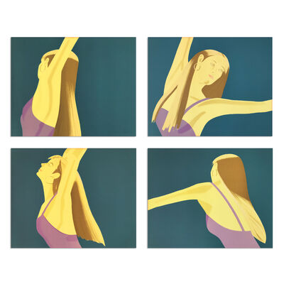 Alex Katz, 'Night: William Dunas Dance (Suite of Four)', 1979