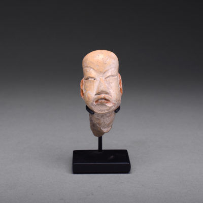 Unknown Pre-Columbian, 'Olmec Sculptural Fragment of a Head', 900 BCE-500 BCE