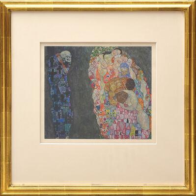 Gustav Klimt, 'Der Tod und das Leben', 1931
