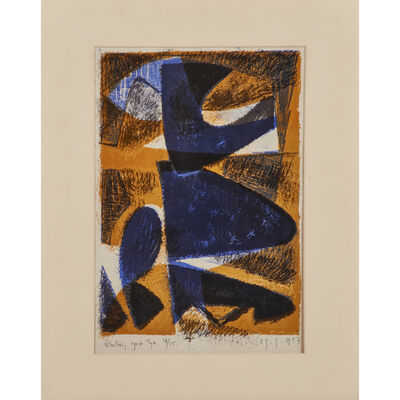 Richard Winther, 'Abstraction', 1957