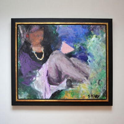 Sargy Mann, 'The Gold Necklace', ca. 2005