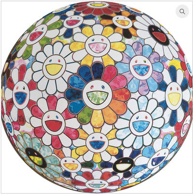 Takashi Murakami, 'Flower Ball: Scenery with a Rainbow in the Midst', 2016