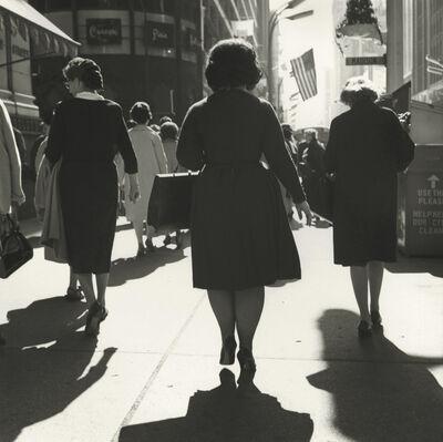 Vivian Maier, 'VM19XXW01143-07-MC, Untitled, Chicago, IL, c. 1960 3 Women Walking', 1960