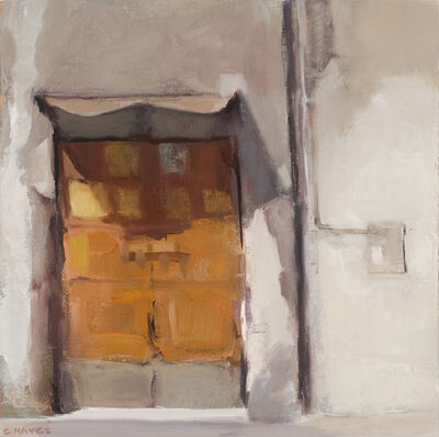 Connie Hayes, 'Door in a Gray Wall'