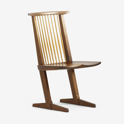 George Nakashima, 'Conoid chair', 1984