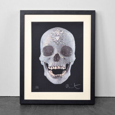 Damien Hirst, 'For the Love of God (with Diamond Dust)', 2009