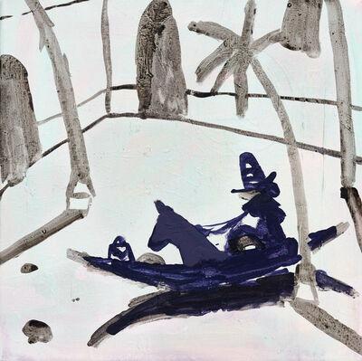 Mie Olise Kjærgaard, 'Horse Riding in Boat', 2018