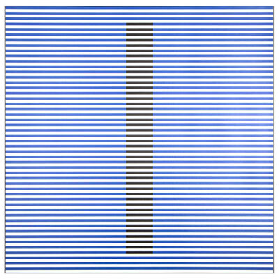 Carlos Cruz-Diez, 'Induction du Jaune Beatriz B 7/8', 2010
