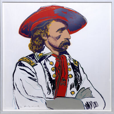 Andy Warhol, 'General Custer', 1986