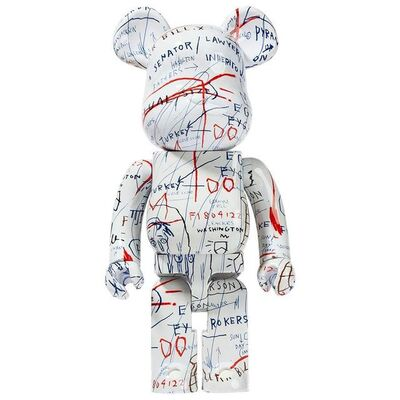 BE@RBRICK, 'Medicom Toy BE@RBRICK Jean-Michel Basquiat #2 1000%', 2018