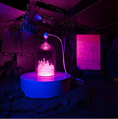 Mike Kelley, 'Kandor 10B(Exploded Fortress of Solitude)', 2011