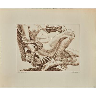 Philip Pearlstein, 'Nude in Oak Chair', 1977