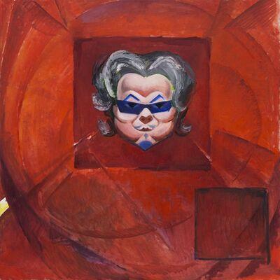 Wang Xingwei, 'Red-square Portrait', 2014