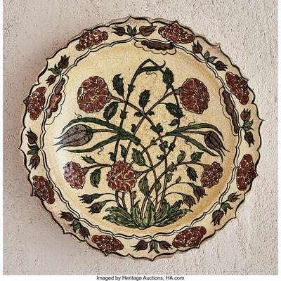 Jean-Jacques Lachenal, 'Rose Bush Platter', circa 1925