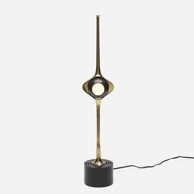 Angelo Lelii, 'Cobra table lamp, model 12919', 1964