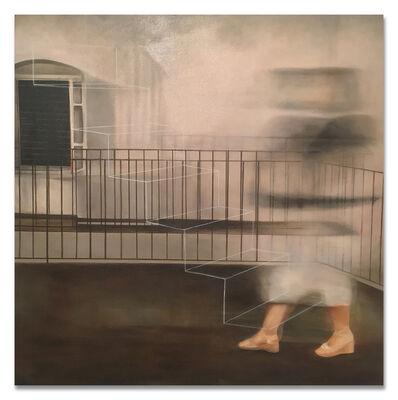 """Ronald Moran, '""""En la escalera de hilo III""""', 2017"""