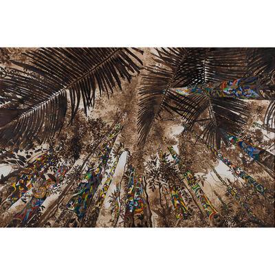 Julien Sinzogan, 'Forêt et cocotiers'
