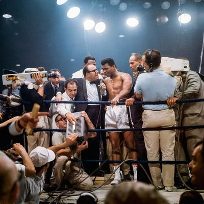 Neil Leifer, 'Neil Leifer. 'Ali Victorious, Ali vs. Liston II, 1965' Dye-sublimation print on ChromaLuxe aluminum panel', 2020